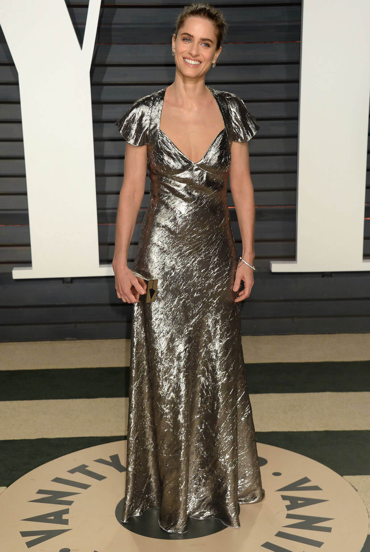 Amanda Peet Stills at 2017 Vanity Fair Oscar Party in Beverly Hills
