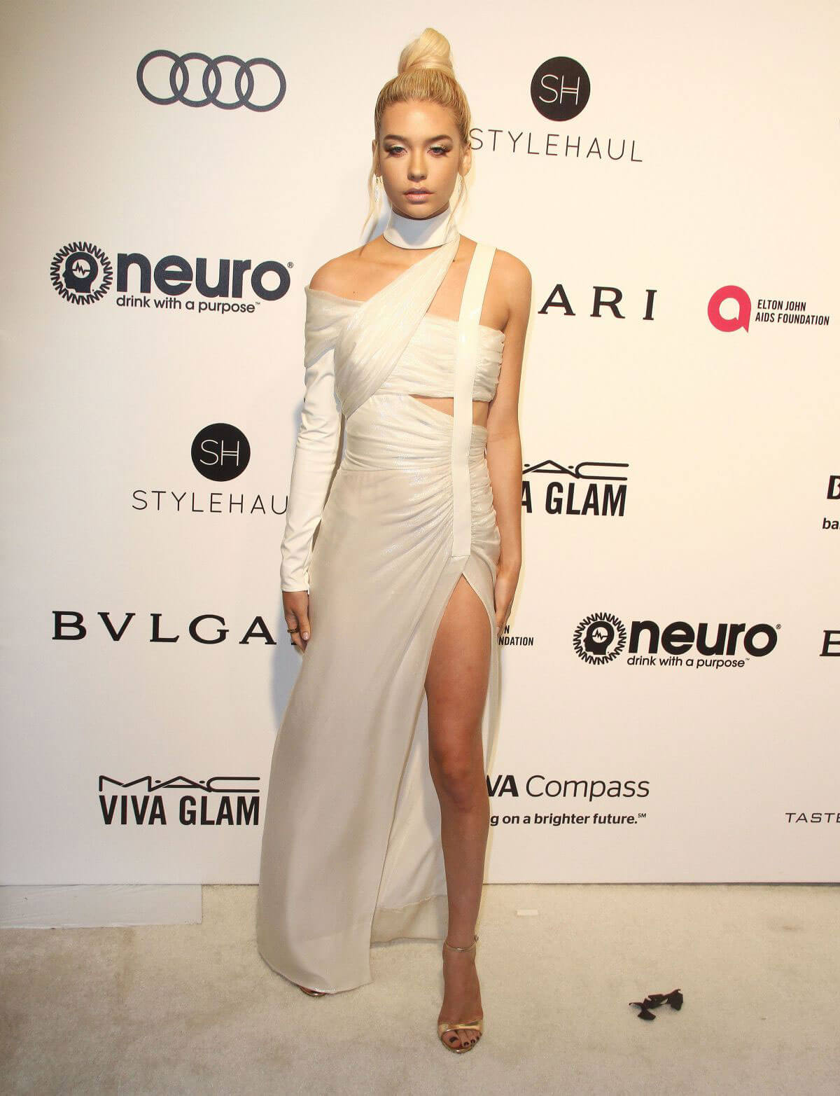 Amanda Steele Stills at 25th Annual Elton John Aids Foundation's Oscar Viewing Party in Hollywood