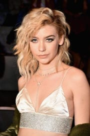 Amanda Steele Stills at The Blonds Collection at New York Fashion Week