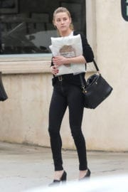 Amber Heard Stills Out in Los Angeles