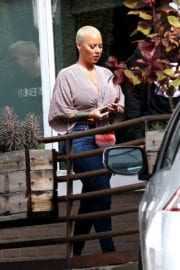 Amber Rose Out and About in Los Angeles