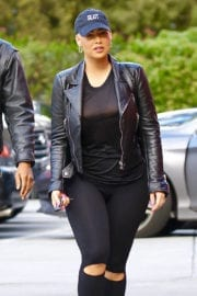 Amber Rose Out and About in Studio City