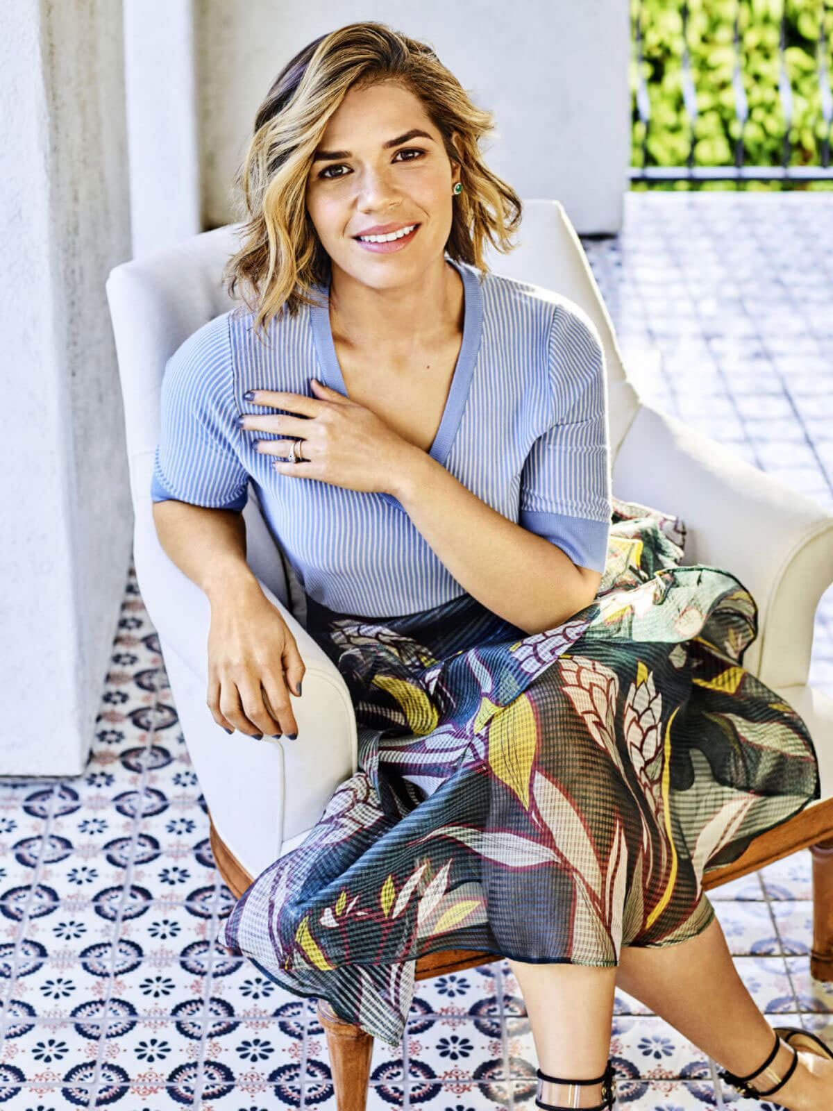 America Ferrera in Redbook Magazine March 2017