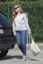 Amy Adams Stills at Rehearsals for the 89th Annual Academy Awards in Hollywood