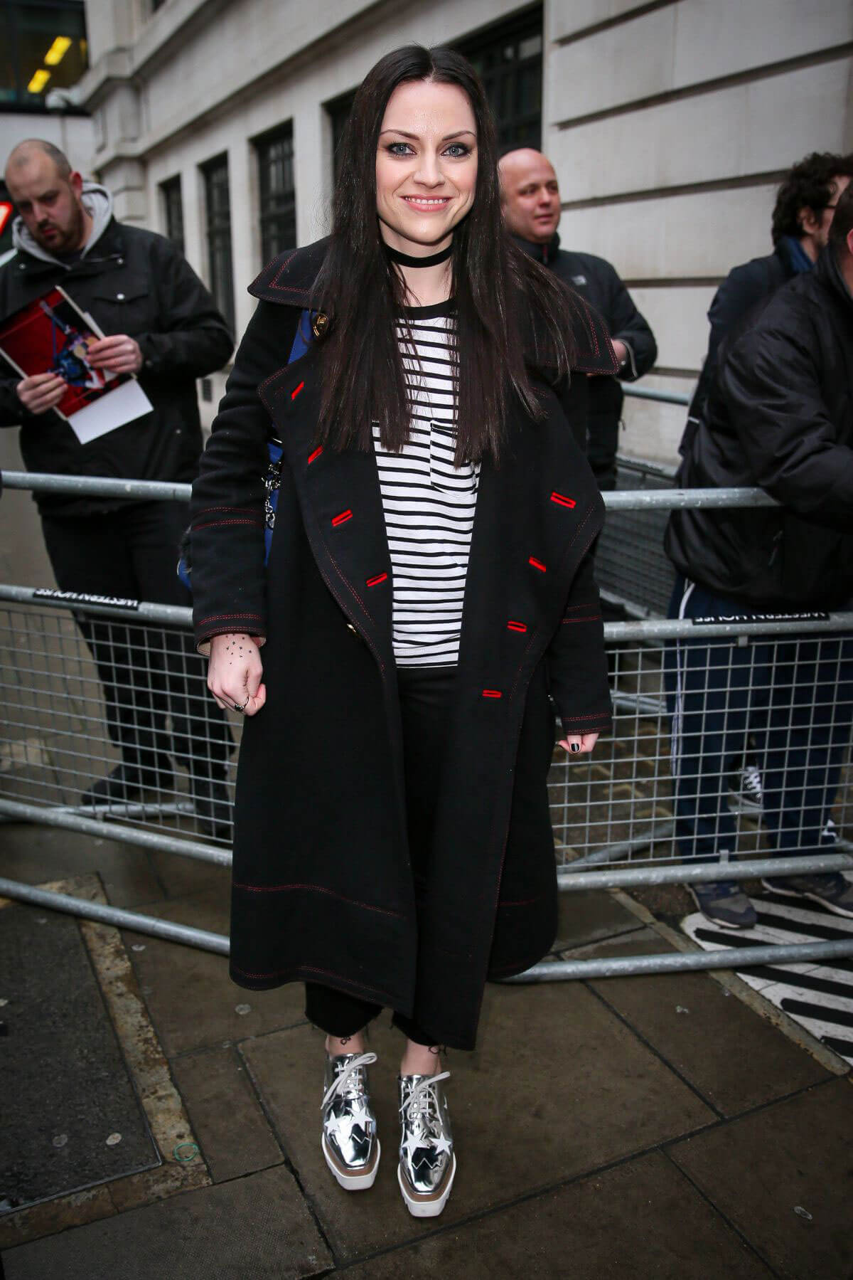 Amy Macdonald at BBC Radio 2 Studios in London