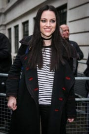 Amy Macdonald Stills at BBC Radio 2 Studios in London