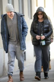 Amy Schumer Out With A Friend in New York
