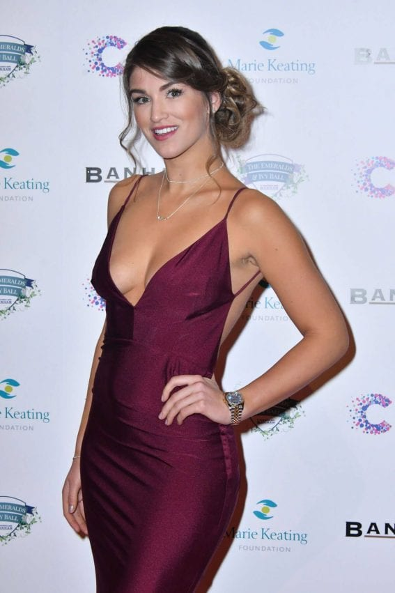 Amy Willerton Stills at Emeralds and Ivy Ball in London