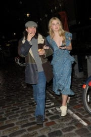 Anaïs Gallagher Stills Leaves Mulberry Afterparty in London