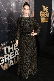"""Ana de la Reguera Stills at """"The Great Wall"""" Premiere in Hollywood"""