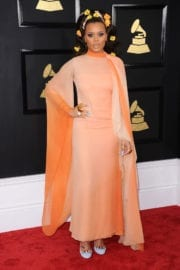 Andra Day at 59th Annual Grammy Awards in Los Angeles