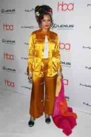 Andra Day Stills at 3rd Annual Hollywood Beauty Awards in Los Angeles