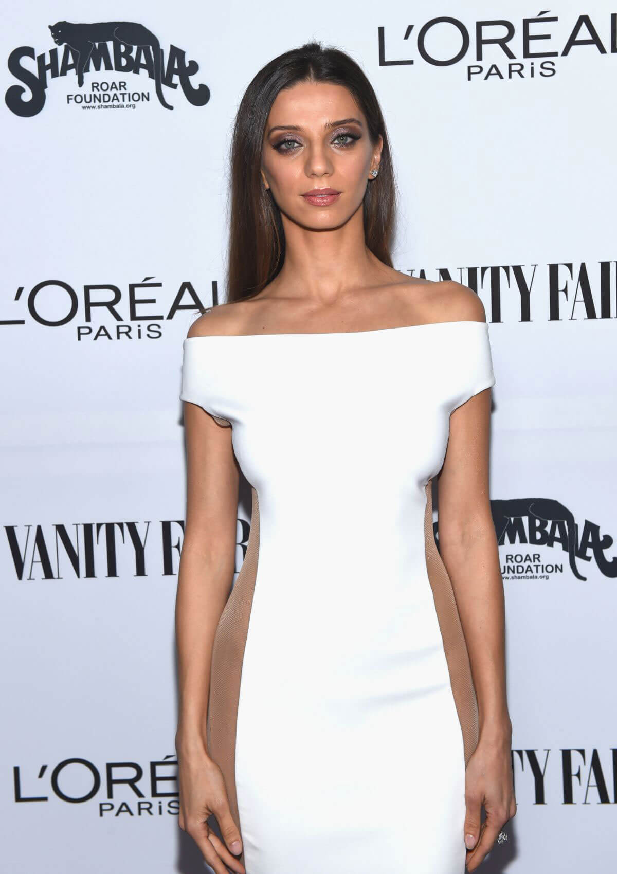 Angela Sarafyan Stills at Vanity Fair and L'Oreal Paris Toast to Young Hollywood