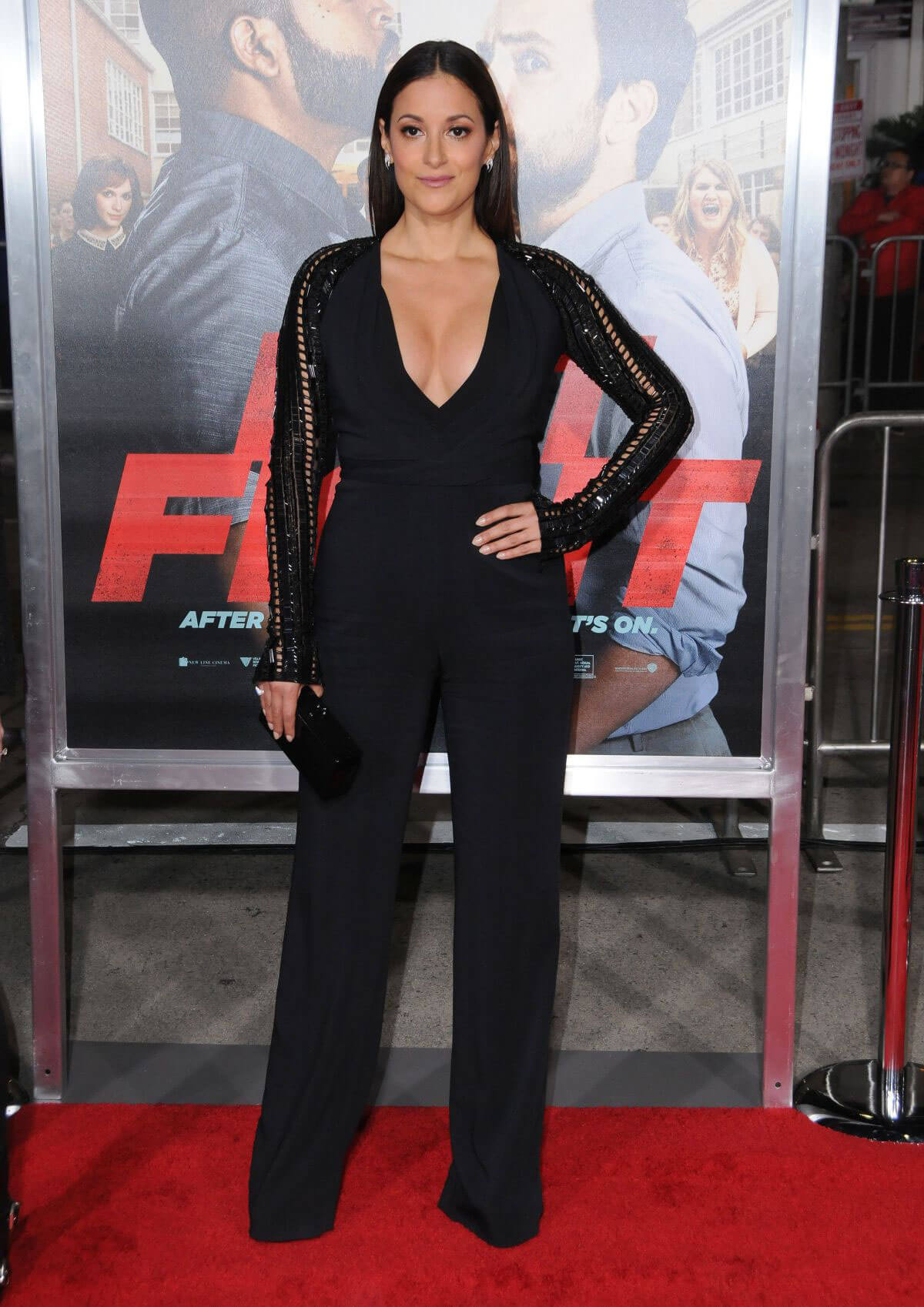 Angelique Cabral at 'Ffist Fight' Premiere in Westwood