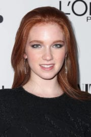 Annalise Basso Stills at Vanity Fair and L'Oreal Paris Toast to Young Hollywood