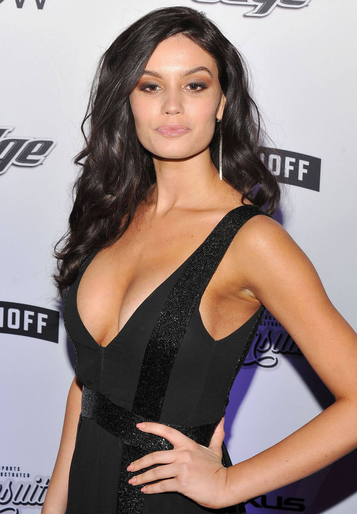 Anne de Paula Stills at Sports Illustrated Swimsuit Edition Launch in New York