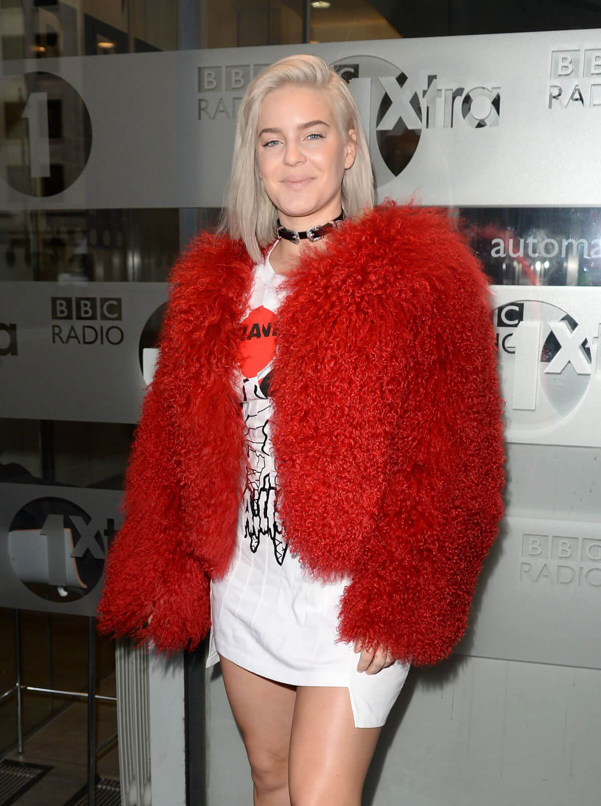 Anne-Marie Stills at BBC Radio 1 in London