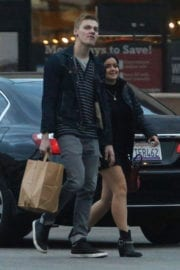 Ariel Winter Out Shopping with Her Boyfriend in Los Angeles