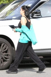 Ariel Winter Stills in Tank Top Out in West Hollywood