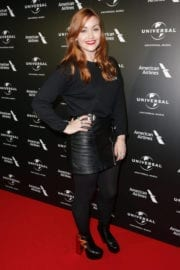 Arielle Free Stills at Universal Music Pre-brit Award Party in London