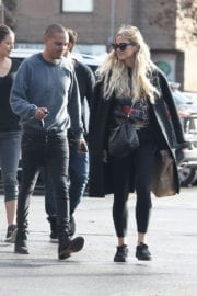 Ashlee Simpson Out and About in Los Angeles