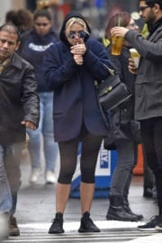 Ashley Benson Out and About in New York