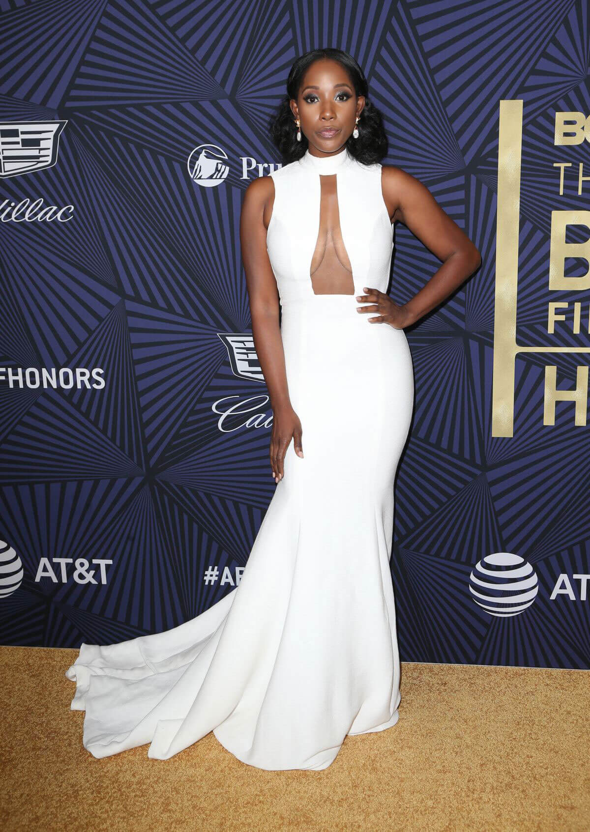 Ashley Blaine Fatherson Stills at Bet's 2017 American Black Film Festival Honors Awards