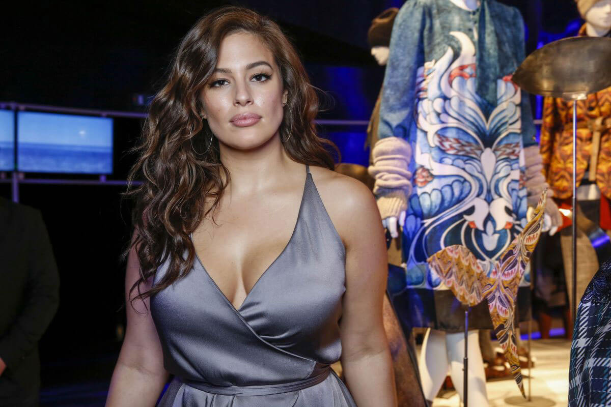 Ashley Graham Stills at Marina Rinaldi Fashion Show at Milan Fashion Week