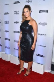Ashley Graham Stills at Sports Illustrated Swimsuit Edition Launch in New York
