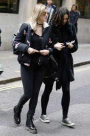 Ashley James Stillls Out and About in London