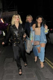 Ashley Roberts and Vanessa White Stills Leaves Maybelline Party in London