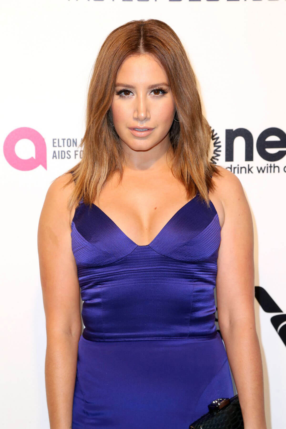 Ashley Tisdale Stills at the 25th Annual Elton John AIDS Foundation's Oscar Party