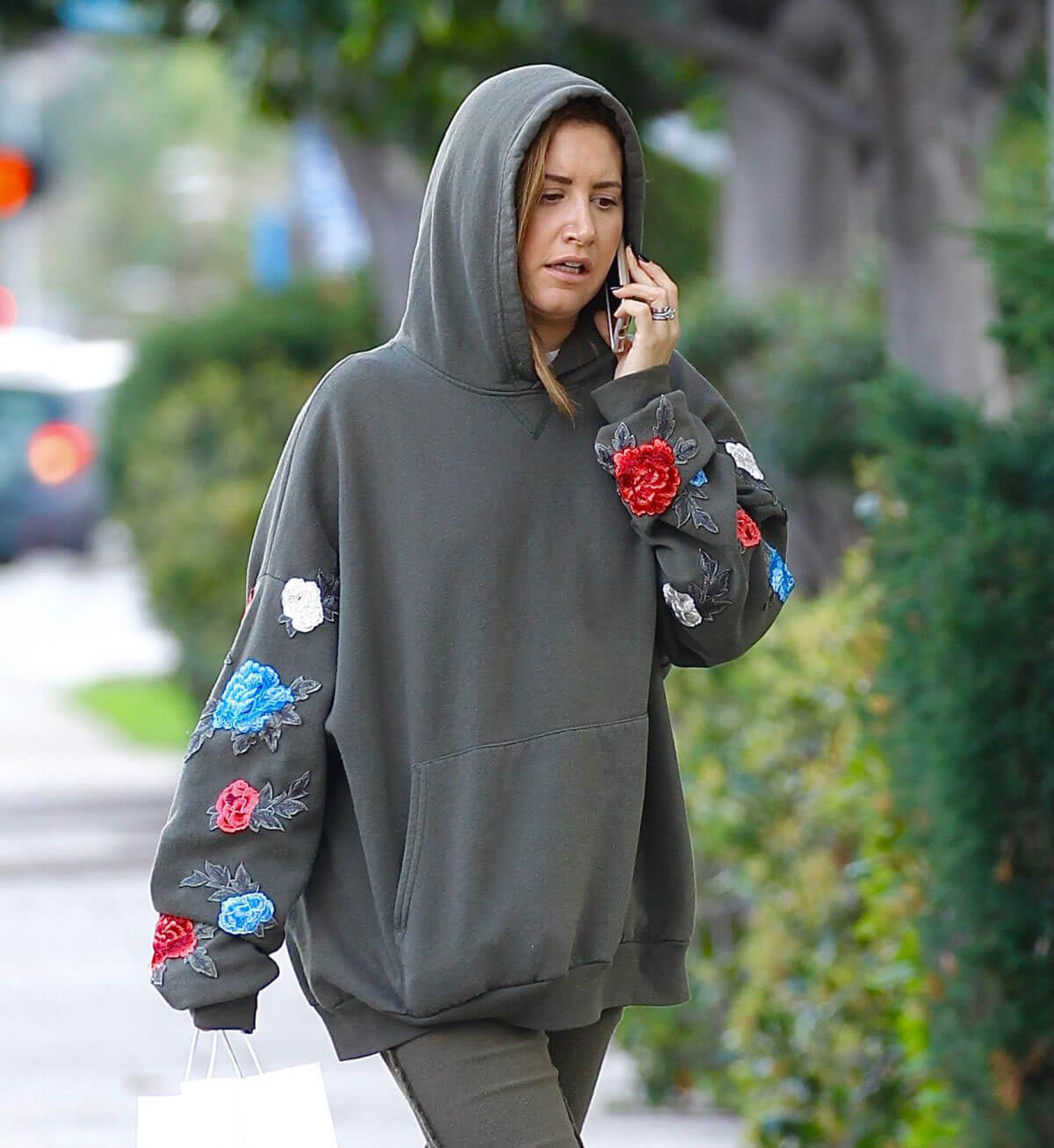 Ashley Tisdale Stills Out for Lunch at Joans on Third in Studio City