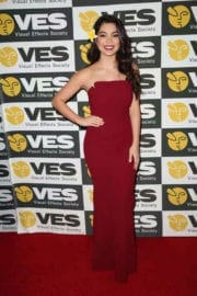 Auli'i Cravalho at 15th Annual Visual Effects Society Awards in Beverly Hills