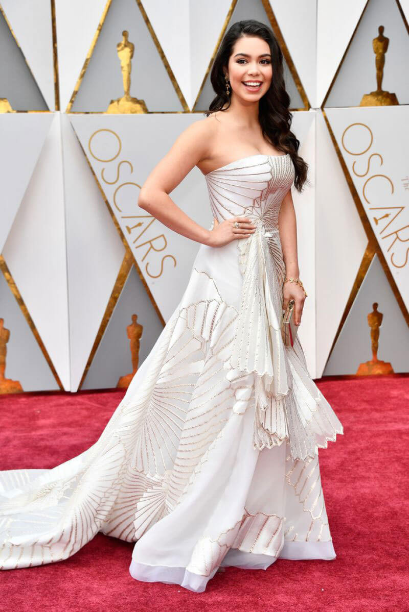 Auli'i Cravalho Stills at 89th Annual Academy Awards in Hollywood
