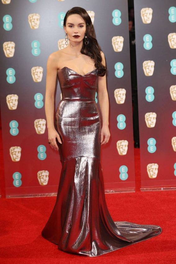 Ava West Stills at Bafta 2017 Awards in London