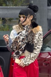 Bai Ling Stills Out and About in Malibu