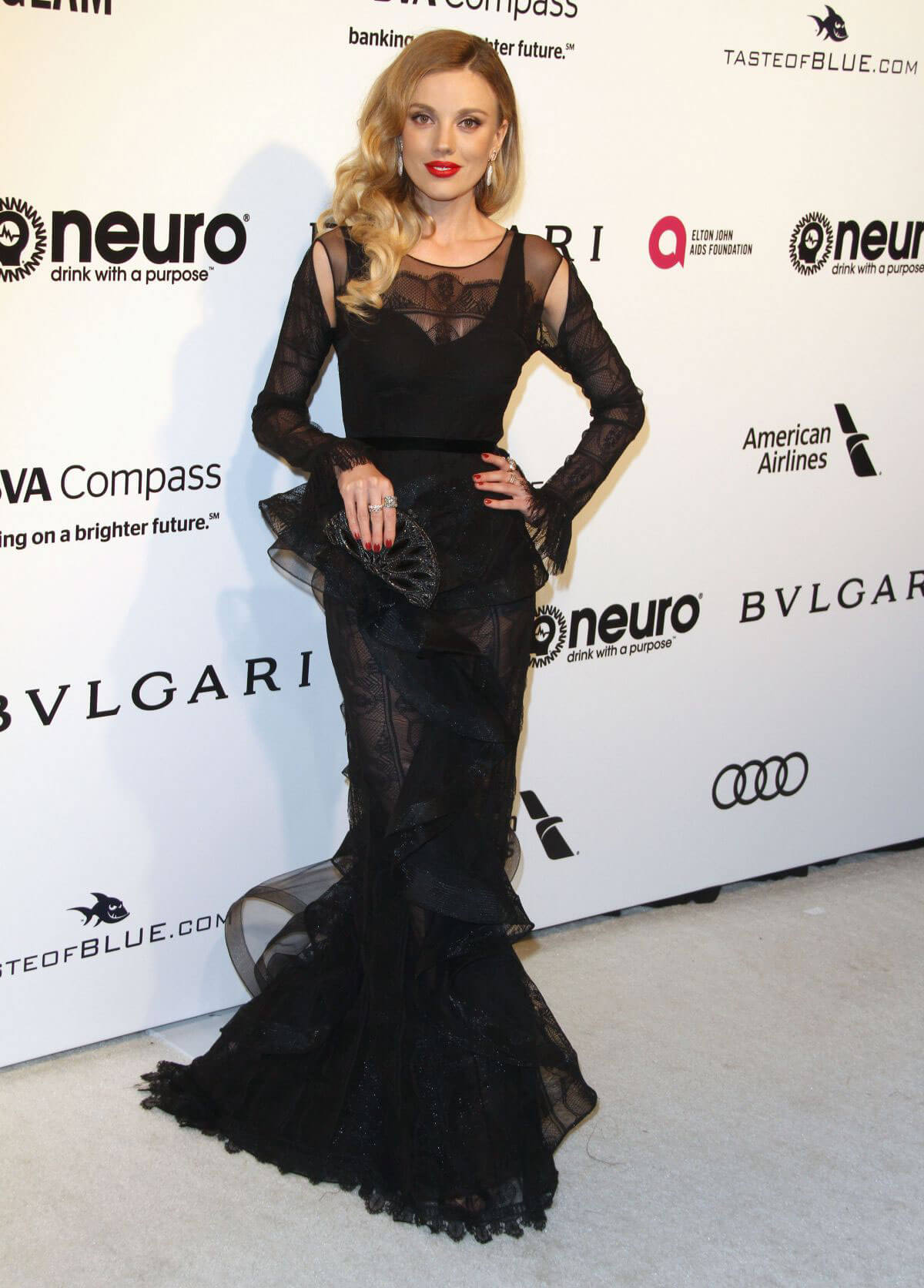Bar Paly Stills at 25th Annual Elton John Aids Foundation's Oscar Party in Hollywood