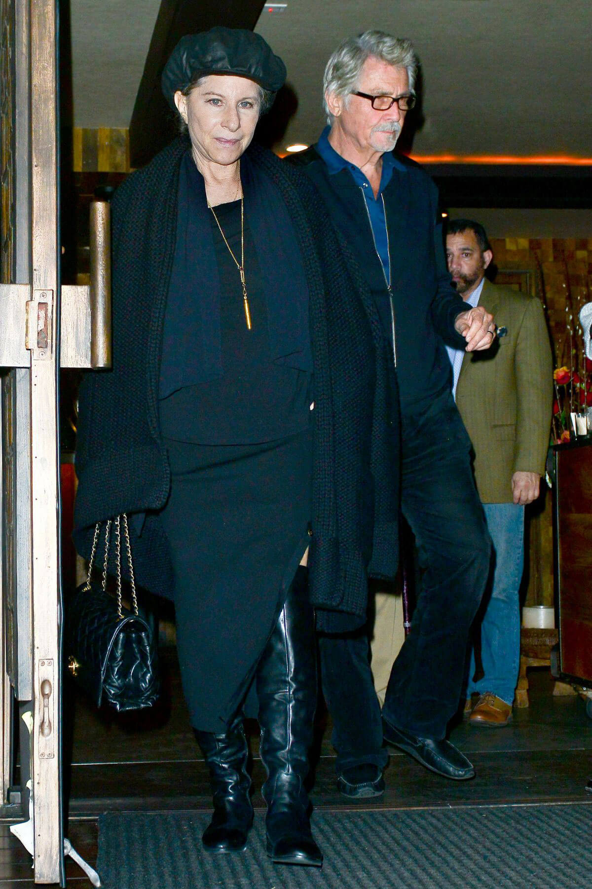 Barbra Streisand Stills Out for Dinner in Los Angeles