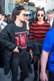 Bella Hadid and Kendall Jenner Stills at a McDonalds in New York