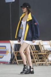 Bella Hadid at Tommy Hilfiger Fashion Show Rehearsal in Venice