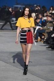 Bella Hadid at Tommyland Tommy Hilfiger Spring 2017 Fashion Show in Venice