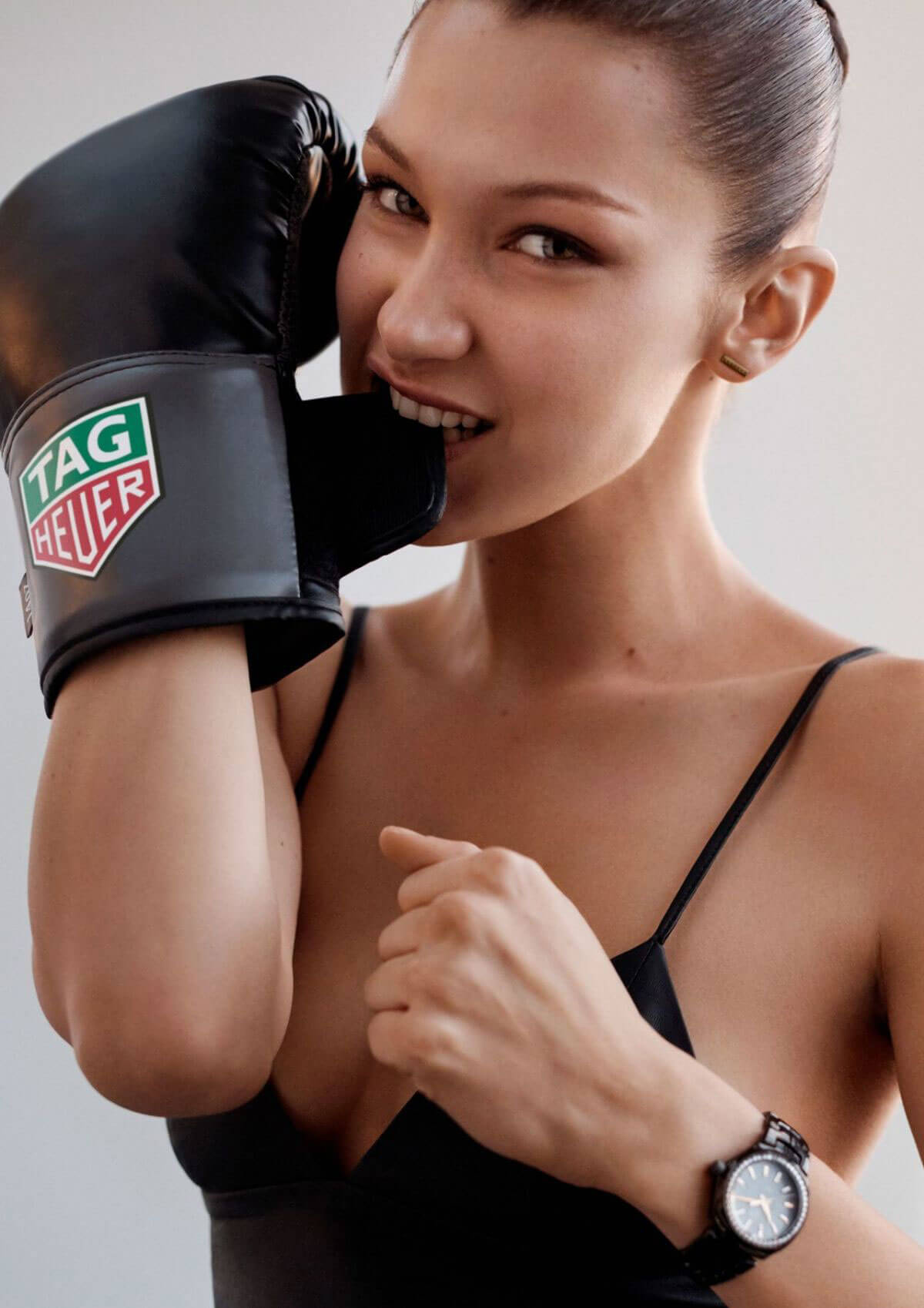 Bella Hadid for Tag Heuer Photoshoot 2017
