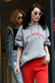 Bella Hadid Stills Out and About in London