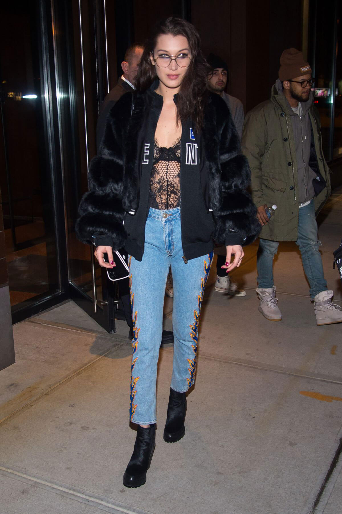 Bella Hadid Stills Out for Dinner in New York