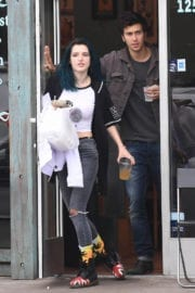 Bella Thorne and Nat Wolff Stills Out in Los Angeles