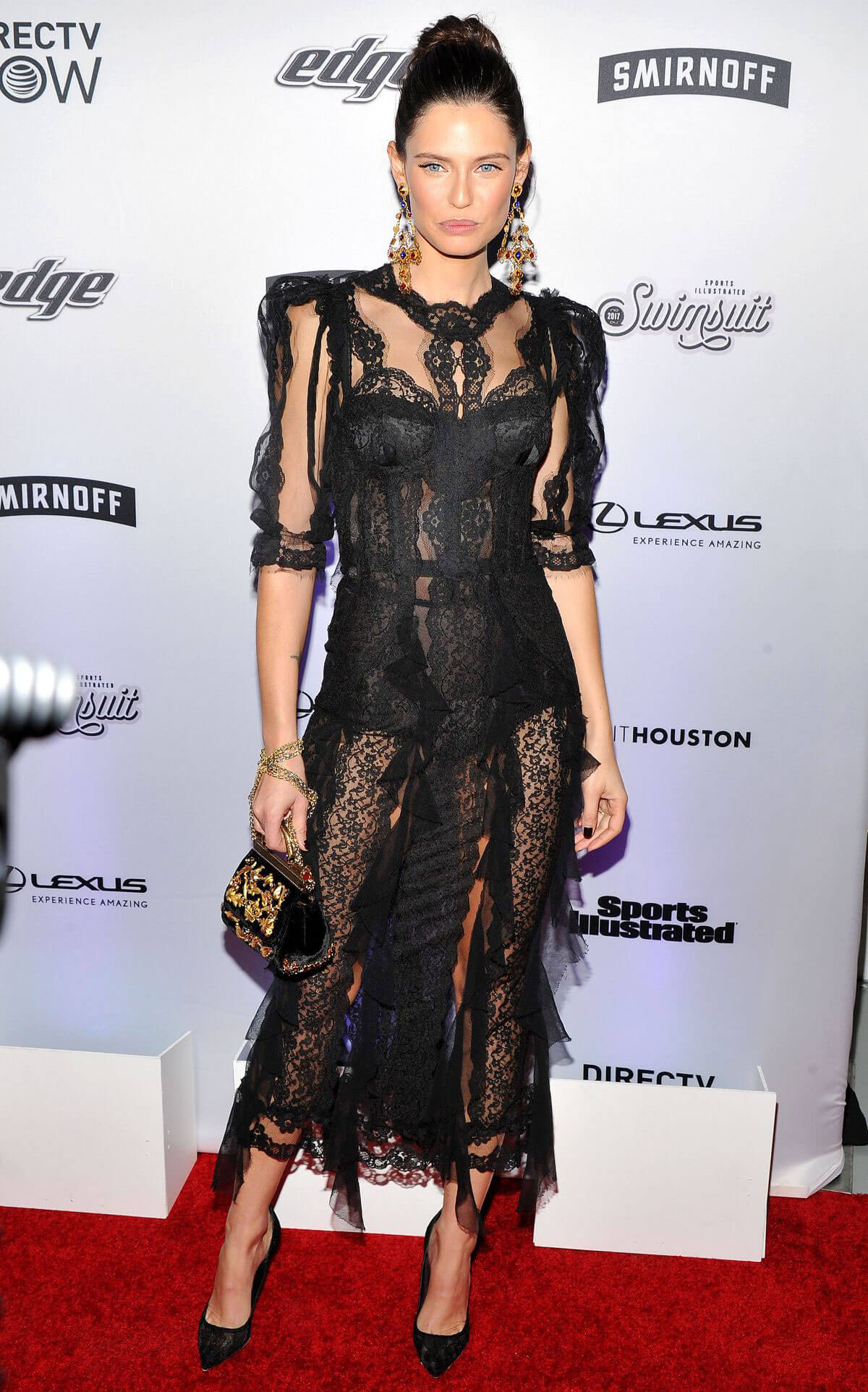 Bianca Balti Stills at Sports Illustrated Swimsuit Edition Launch in New York
