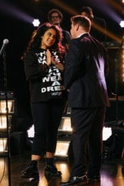 Bibi Bourelly Stills at Late Late Show with James Corden