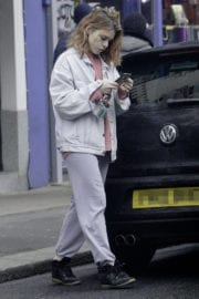 Billie Piper Stills Out and About in London