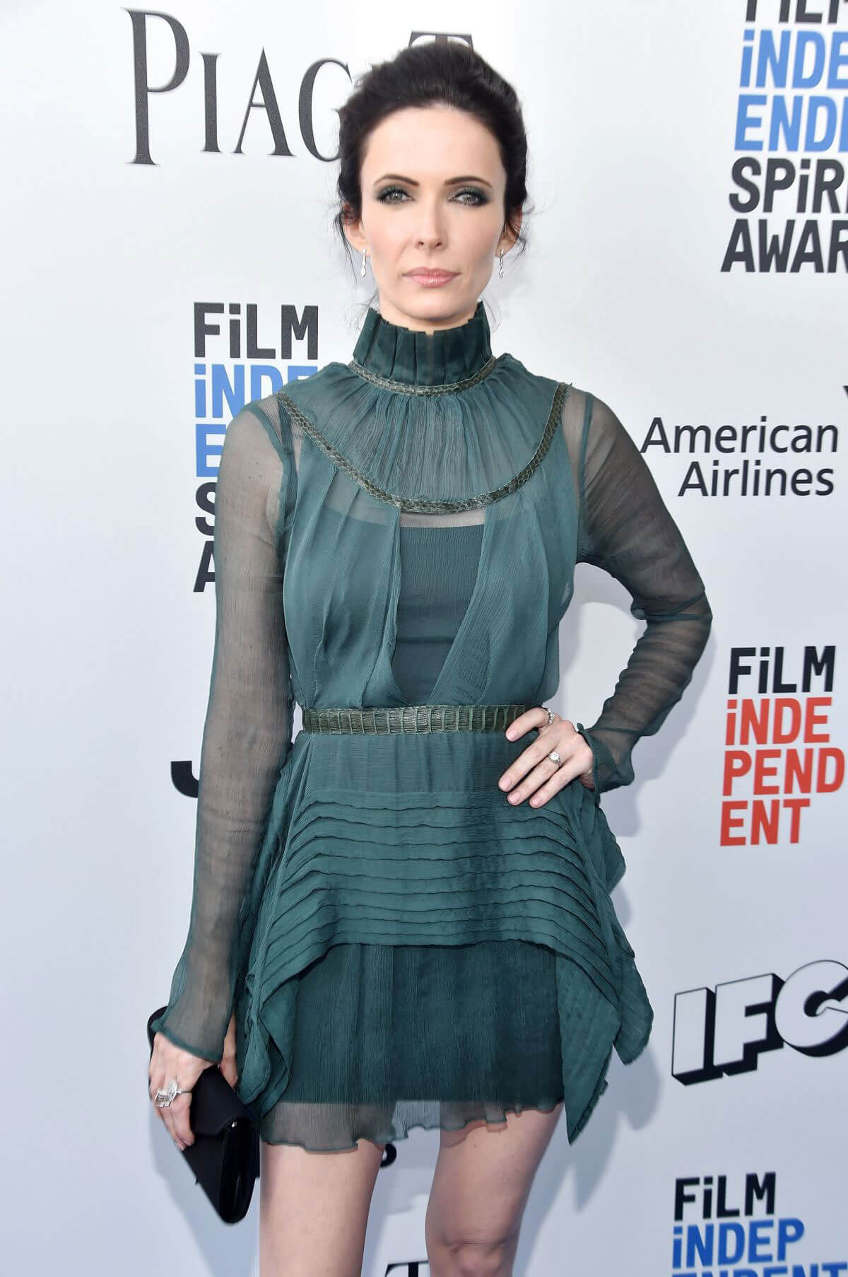 Bitsie Tulloch Stills at 2017 Film Independent Spirit Awards in Santa Monica
